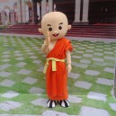 Supply Cartoon Doll Clothing Cartoon Walking Doll Clothing Cartoon Show Clothing Doll Clothes Monk Mascot Costume