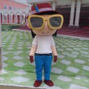 Cartoon Mascot Character Cartoon Walking Doll Clothing Doll Clothing Cartoon Show Clothing Doll Clothes Mascot Costume