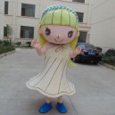 Supply Girl Cartoon Doll Clothing Cartoon Walking Doll Clothing Cartoon Show Clothing Girl Doll Clothes Taiwan Mascot Costume