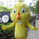 Supply Zodiac Animal Small Yellow Chicken Cartoon Doll Clothing Cartoon Walking Doll Clothing Cartoon Show Clothing Doll Clothes Mascot Costume
