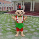 Supply Cartoon Characters Gourd Dolls Walking Cartoon Doll Clothing Cartoon Show Clothing Props Mascot Costume