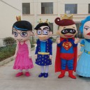 Supply Cartoon Doll Clothing Cartoon Characters Walking Doll Cartoon Costumes Performing Family Portrait Mascot Costume