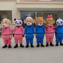 Supply Cartoon Doll Doll Clothing Cartoon Animation Cartoon Dolls Clothing Walking Advertisements Mascot Costume