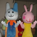 Supply Rabbit Cartoon Doll Clothing Cartoon Walking Doll Clothing Doll Clothing Doll Clothing Cartoon Show Props Mascot Costume