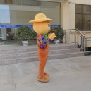 Scarecrow Mascot Costume Cartoon Doll Doll Doll Ad Show Props Props Doll