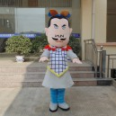 Supply Terracotta Fitted Cartoon Clothing Cartoon Doll Clothing Cartoon Doll Clothing Advertising Props Mascot Costume