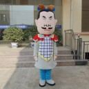 Terracotta Fitted Cartoon Clothing Cartoon Doll Clothing Cartoon Doll Clothing Advertising Props Mascot Costume