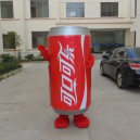 Supply Coca-cola Jdb Advertising Props Cartoon Dolls Dolls Dolls Dolls Advertising Clothing Mascot Costume