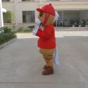 Maca Through Dolls Doll Clothing Cartoon Dress Clothing Advertising Props Mascots Mascot Costume