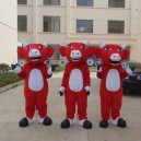 Supply Zodiac Cattle Cartoon Dolls Cartoon Doll Clothing Good Animal Mascot Costume Performing Fine Quality Workmanship