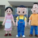 Cartoon Costumes Walking Cartoon Dolls Cartoon Doll Clothes Bulk of The First Father Son Mascot Costume