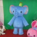 Supply Cartoon Doll Clothing Cartoon Walking Doll Cartoon Costumes Doll Dress Elephant Mascot Costume