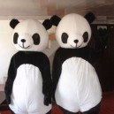Supply Long Hair Panda Cartoon Doll Cartoon Doll Clothing Cartoon Clothing Cartoon Clothing Clothes Panda Panda Mascot Costume
