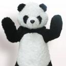 Long Hair Panda Cartoon Doll Cartoon Doll Clothing Cartoon Clothing Cartoon Clothing Clothes Panda Panda Mascot Costume