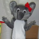 Supply Cartoon Doll Clothing Cartoon Costumes Plush Dolls Bulk of Small Gray Elephant Costume Mascot Costume