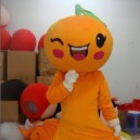 Supply Manufacturers Cartoon Doll Clothing Cartoon Doll Clothing Doll Orange Fruits Oranges Mascot Costume