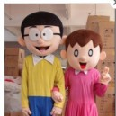 Supply Manufacturers Cartoon Doll Clothing Cartoon Doll Clothing Nobita Shizuka Panhu Small Husband Mascot Costume