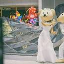 Manufacturers Cartoon Doll Clothing Doll Clothing Cartoon Bear Head Wedding Supplies Mascot Costume