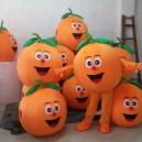 Supply Manufacturers Cartoon Doll Clothing Doll Clothing Cartoon Orange Fruit Doll Doll Clothing Mascot Costume