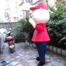 Cartoon Doll Clothing Doll Clothing Cartoon Dolls Walking Cartoon Doll Clothing Performances Props Old Mascot Costume