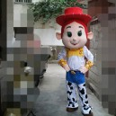 Supply Cartoon Doll Doll Clothing Cartoon Show Props Walking Cartoon Doll Clothing Cartoon Dolls Cowgirl Mascot Costume