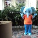 Elephant Cartoon Doll Clothing Cartoon Dolls Walking Cartoon Doll Clothing Cartoon Doll Performances Props Mascot Costume
