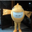 Supply Marine Animals Shark Cartoon Doll Clothing Runaway Neighborhood Adult Serving Shark Candle Day Walking Fish Mascot Costume