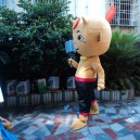 Opening Celebrations Mascot Cartoon Costumes For Adults Wear Big Doll Doll Clothing Promotional Activities Mascot Costume