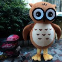 Supply Owl Cartoon Doll Clothing Cartoon Dolls Plush Toys Cartoon Dolls Walking Clothing Performances Props Mascot Costume
