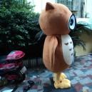 Owl Cartoon Doll Clothing Cartoon Dolls Plush Toys Cartoon Dolls Walking Clothing Performances Props Mascot Costume