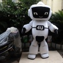 Supply Robot Cartoon Dolls Plush Toys Cartoon Doll Clothing Cartoon Dolls Walking Clothing Performances Props Mascot Costume