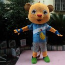 Supply 2014 Most Large Yellow Cartoon Dolls Cartoon Mascot Men Civet A Beaver Cartoon Clothing Mascot Costume