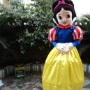 Supply Adult Snow White Costume Snow White Walking Cartoon Dolls Plush Toys Clothes Mascot Costume