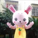 Cartoon Doll Clothing Cartoon Dolls Walking Cartoon Doll Clothing Cartoon Doll Performances Props Rabbit Mascot Costume