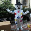 Cartoon Doll Clothing Cartoon Dolls Walking Cartoon Doll Clothing Cartoon Doll Performances Props Snowman Mascot Costume
