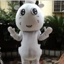 Supply Cute Cow Doll Dress Adult Performance Clothing Performance Props Dress Cute Cartoon Cow Walking Cartoon Dolls Clothing Mascot Costume