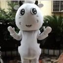 Cute Cow Doll Dress Adult Performance Clothing Performance Props Dress Cute Cartoon Cow Walking Cartoon Dolls Clothing Mascot Costume