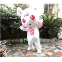Supply Red-eyed Cute Little Bunny Rabbits Bunny Cartoon Angel Doll Props Doll Clothing Mascot Costume