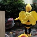 Bee Cartoon Dolls Plush Toys Cartoon Doll Clothing Cartoon Dolls Walking Clothing Performances Props Mascot Costume