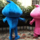 Drops Adult Costume Doll Dress Performance Props Dress Drops Walking Cartoon Doll Clothing Mascot Costume