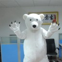 Supply Polar Bear Cartoon Clothing Cartoon Walking Doll Advertising Campaigns Show Cartoon Dolls Dolls Mascot Costume