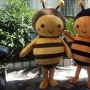 Couple Large Plush Dolls Walking Cartoon Commoner Class Apparel Walking People Mascot Costume