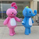 Supply Elephant Cartoon Doll Clothing Cartoon Doll Clothing Cartoon Costumes Walking Activities Advertising Clothing Mascot Costume