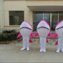 Marine Animals Shark Cartoon Doll Doll Clothing Activities Show Props Props Cartoon Advertising Material Mascot Costume