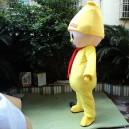 Small Plush Toys Cartoon Dolls Clothing Walking Cartoon Doll Clothing Cartoon Doll Performances Props Mascot Costume
