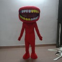 Supply Cartoon Doll Clothing Cartoon Costumes Stage Performance Apparel Clothing Dental Mouth To Map Mascot Costume