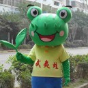 Supply Frog Walking Doll Cartoon Clothing Cartoon Doll Clothing Film and Television Animation Cartoon Costumes Stage Performance Clothing Mascot Costume