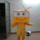 Tv Cartoon Clothing Cartoon Dolls Walking Cartoon Dolls Performances Promotional Mall Opened Mascot Costume