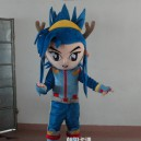 Supply Cartoon Film Props Dress Clothes Cartoon Dolls Cartoon Characters Warrior Costumes Stage Performance Mascot Costume
