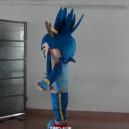 Cartoon Film Props Dress Clothes Cartoon Dolls Cartoon Characters Warrior Costumes Stage Performance Mascot Costume